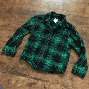 3/$15🔺Carters plaid button up